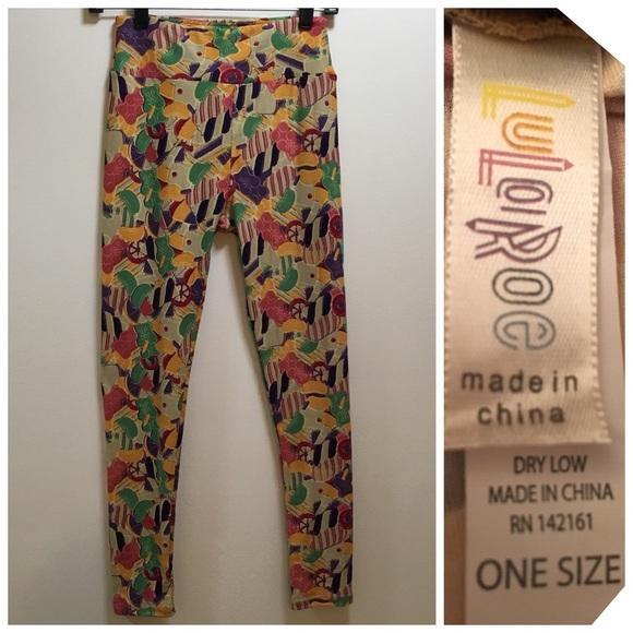 LuLaRoe Pants - 2️⃣for💲2️⃣0️⃣ One Size Lularoe Candy Leggings!